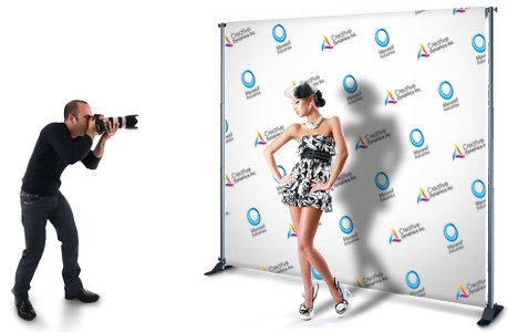 CHICAGO STEP AND REPEAT BANNERS