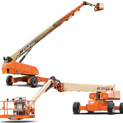 JLG boom lift chicago graphics installers